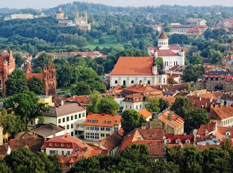居住在立陶宛