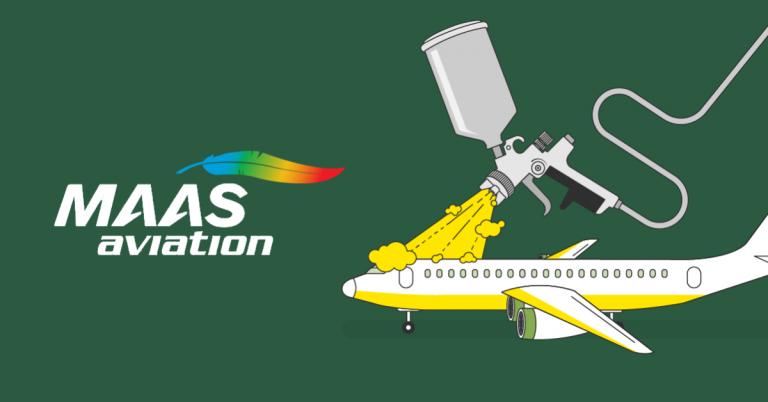 MAAS Aviation 將在考納斯機場設立飛機噴漆設施